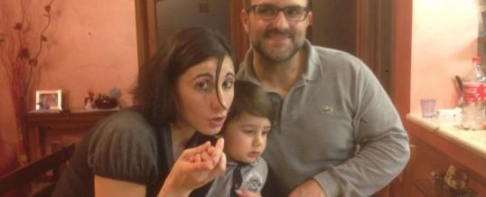 La storia di Anna e Tullio e di loro figlio Paolo di 2 anni